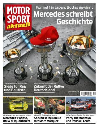 MOTORSPORT aktuell 44 2019