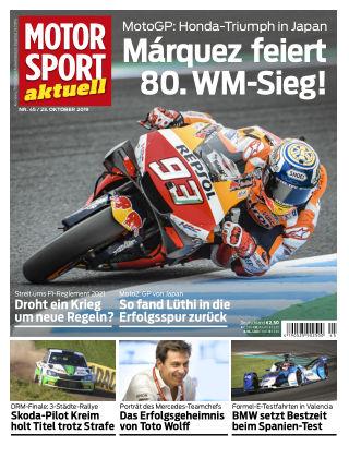 MOTORSPORT aktuell 45 2019
