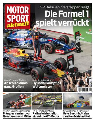MOTORSPORT aktuell 49 2019