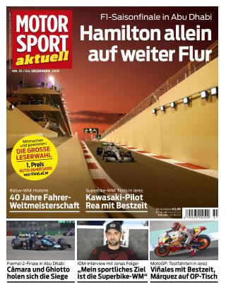 MOTORSPORT aktuell 51 2019