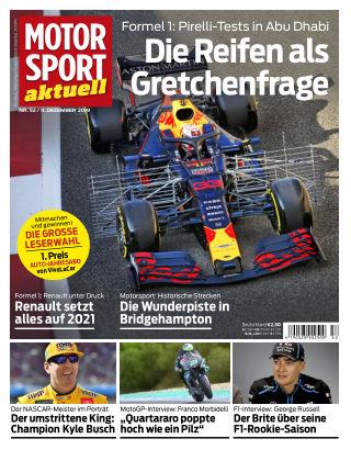 MOTORSPORT aktuell 52 2019