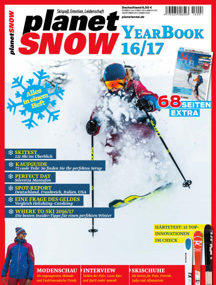 planetSNOW YearBook 16/17