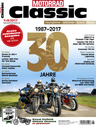 MOTORRAD CLASSIC NR.07+08 2017