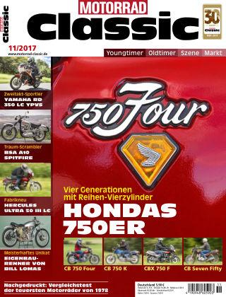 MOTORRAD CLASSIC NR.11 2017