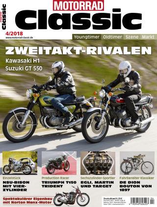 MOTORRAD CLASSIC NR.04 2018