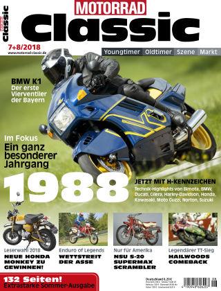MOTORRAD CLASSIC NR.07 & 08 2018