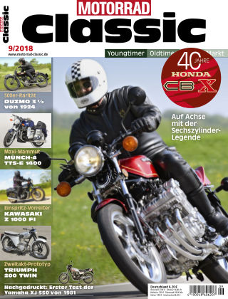 MOTORRAD CLASSIC NR.09 2018