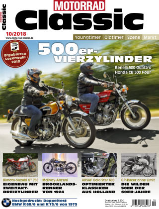 MOTORRAD CLASSIC NR.10 2018