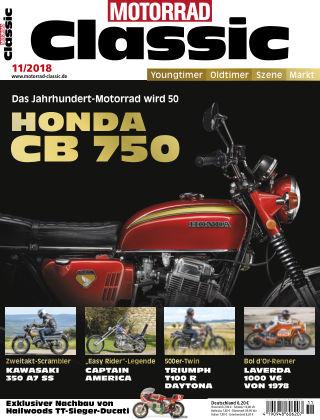 MOTORRAD CLASSIC NR.11 2018