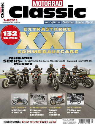 MOTORRAD CLASSIC 07 2019