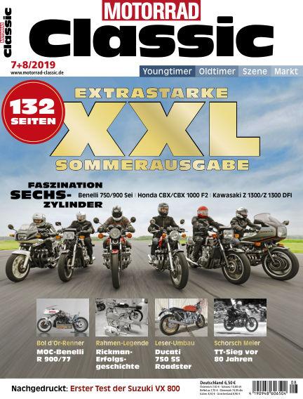 MOTORRAD CLASSIC June 06, 2019 00:00