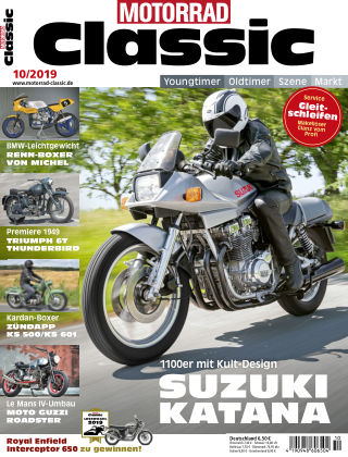 MOTORRAD CLASSIC 10 2019