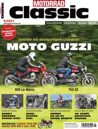 MOTORRAD CLASSIC 09 2021