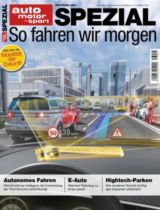 auto motor und sport SPEZIAL ECO MOBILITÄT 2017
