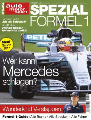 auto motor und sport SPEZIAL FORMEL 1 2017
