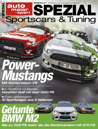 auto motor und sport SPEZIAL Sportscars&Tuning'18