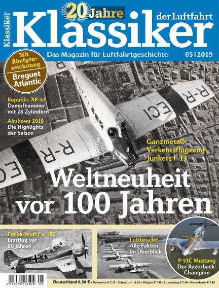 Klassiker der Luftfahrt May 24, 2019 00:00