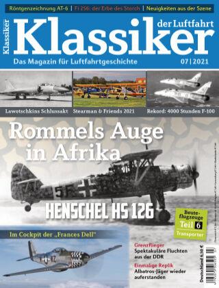 Klassiker der Luftfahrt 07 2021