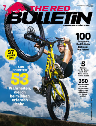 The Red Bulletin - CHDE Sept./Okt. 2020