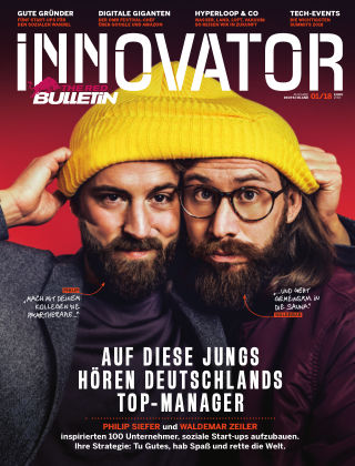 The Red Bulletin INNOVATOR - DE 1/2018