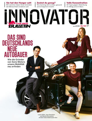 The Red Bulletin INNOVATOR - DE 01/19