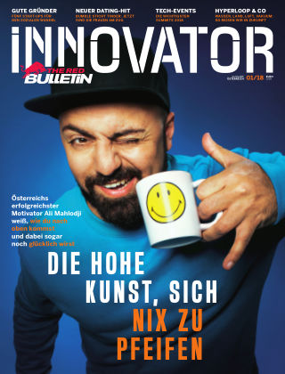 The Red Bulletin INNOVATOR - AT 1/2018