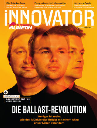 The Red Bulletin INNOVATOR - AT 2/2018