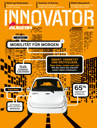The Red Bulletin INNOVATOR - CHDE 01/19