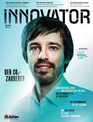 The Red Bulletin INNOVATOR - CHDE 01/20