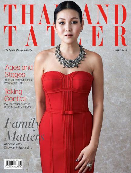 Thailand Tatler August 05, 2014 00:00