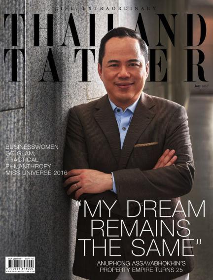 Thailand Tatler July 04, 2016 00:00