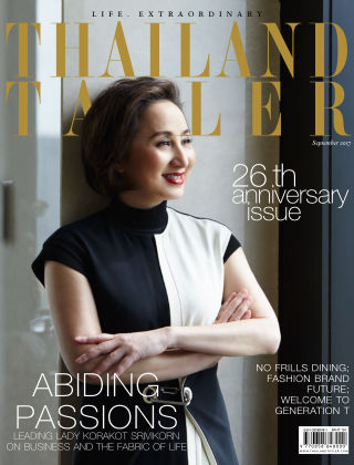 Thailand Tatler September 2017