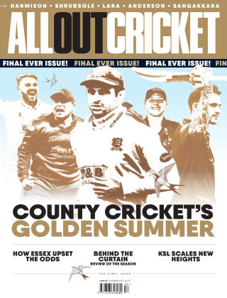 All Out Cricket Issue 158