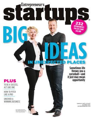 Entrepreneur Startups Summer 2015