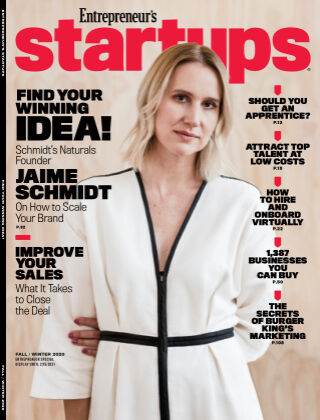 Entrepreneur Startups Fall 2020