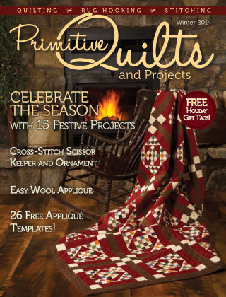 Primitive Quilts and Projects Winter 2014