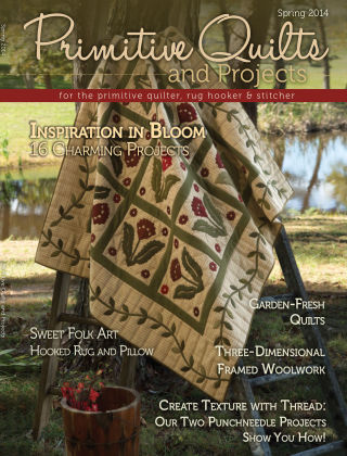 Primitive Quilts and Projects Spring 2014