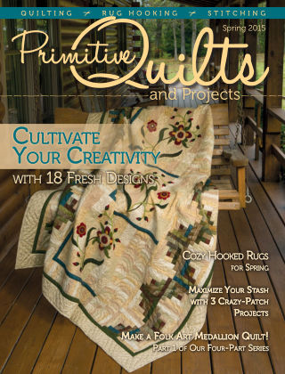 Primitive Quilts and Projects Spring 2015