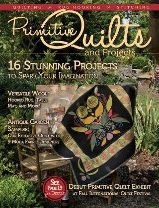 Primitive Quilts and Projects Summer 2015