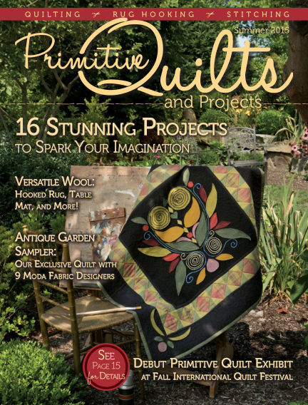Primitive Quilts and Projects April 03, 2015 00:00
