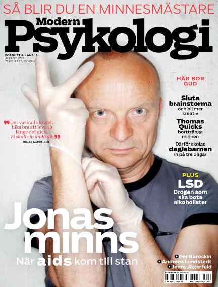 Modern Psykologi August 02, 2012 00:00