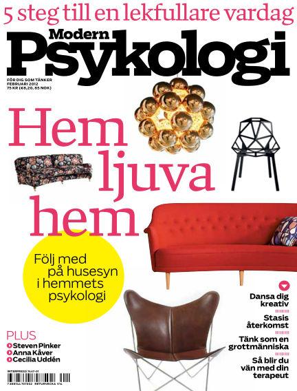 Modern Psykologi January 19, 2012 00:00