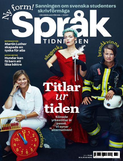 Språktidningen September 27, 2017 00:00
