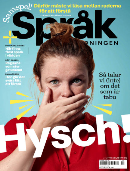 Språktidningen September 19, 2018 00:00