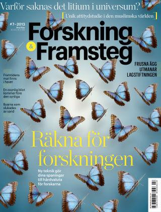 Forskning & Framsteg 2013-08-08