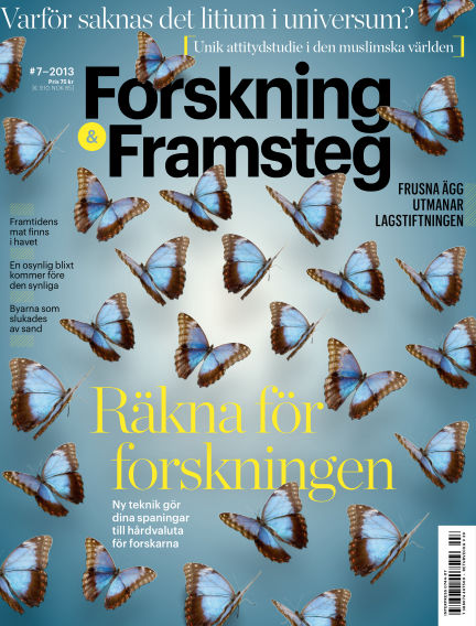Forskning & Framsteg August 08, 2013 00:00