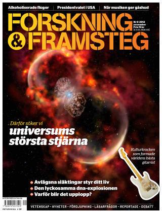 Forskning & Framsteg 2012-10-25
