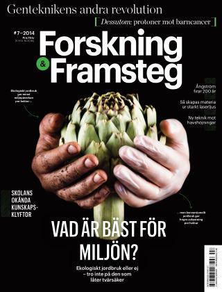 Forskning & Framsteg 2014-08-07