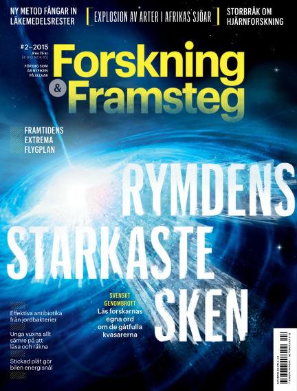 Forskning & Framsteg February 05, 2015 00:00