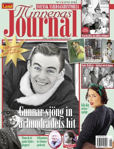 """Minnenas Journal (Titel sammanslagen med """"Svenska Öden & Äventyr"""") December 30, 2013 00:00"""